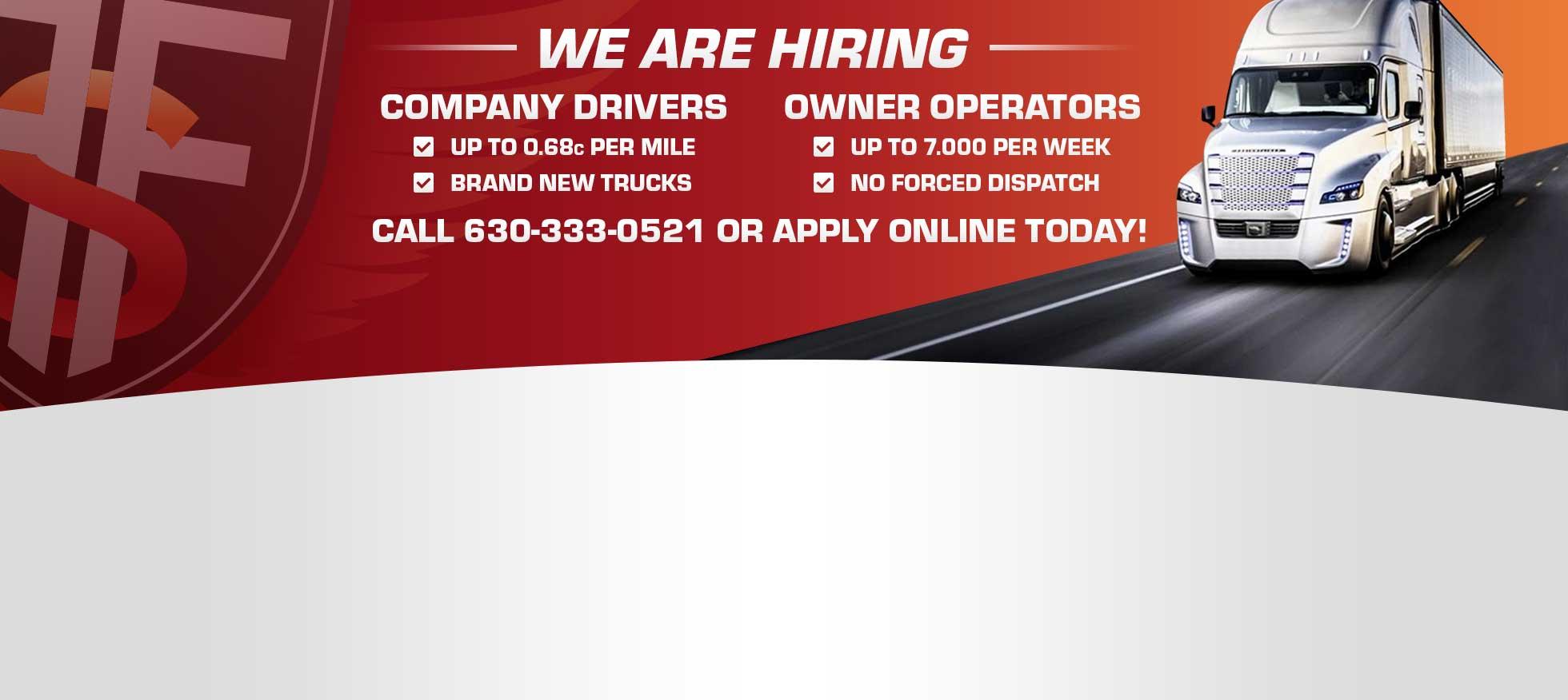 Forward Freight Systems Inc