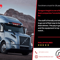 Paragon Freight INC is hiring Company Drivers - APPLY TODAY