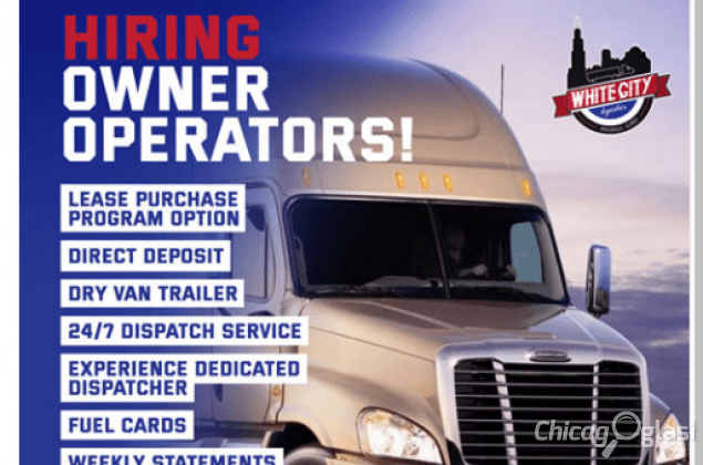 WHITE CITY LOGISTICS IS HIRING OWNER OPERATORS AND DRIVERS!!!